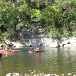 Club canoë kayak sur le plan d'eau